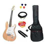Guitarra Eléctrica Strato Onas Funda Correa Cable Nt Cuotas