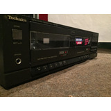 Technics Stereo Double Cassette Deck Para Repuesto No On