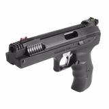 Pistola De Pressão Beeman Calibre 4.5 Monotiro + Chumbinhos