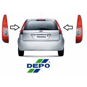 Par De Lanterna Fiesta Hatch 2003 2004 2005 2006 2007 Depo