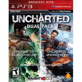 Uncharted Ps3 | Digital Dual Pack Incluye Uncharted 1 Y 2