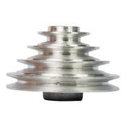 Polia De Alumínio Escalonada - 65x90x115x140 Mm - 4 Canais A