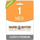 Cuentas Premium Rapidgator 30 Dias Original Envio Inmediato