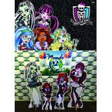 Kit Displays Monster High 8 Peças + Painel 2,00x1,40 .