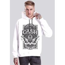 Blusa Johnny Cash Camiseta Moletom Regata Banda Rock Country