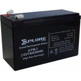 Bateria 12v 7a Sellada Ups Centrales Cercas Electricas Y Mas