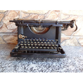 Máquina De Escrever Remington 16 - Desconto