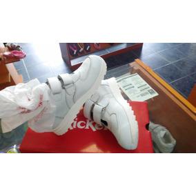 Zapatos Escolares Blancos Kickers Unisex Originales Duradero