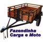 (novo)projeto Carretinha Carga Reboque Fazendinha+frete Grat