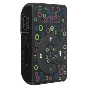 Kit Mp3 Player Player C/ Cabo De Dados Usb + Fone De Ouvido