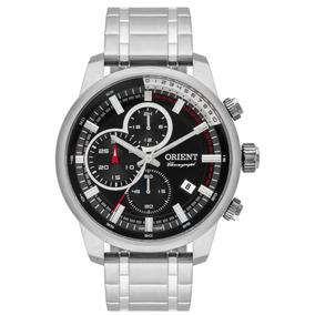 37bd2781ebb Relógio Orient Masculino Cronógrafo Mbssc147 P1sx Oferta