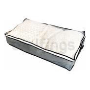 Organizador Bolsa Caja 80x45x15 Cm De Tela Con Cierre Ropa