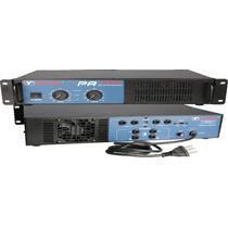 Amplificador Potencia New Vox Pa 900 É ) G Y Iluminação (