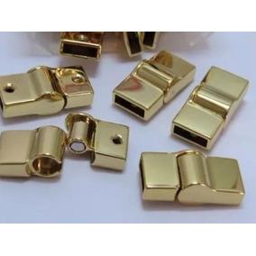 Fecho Magnético Ima Para Fazer Pulseiras- Banhado A Ouro 18k