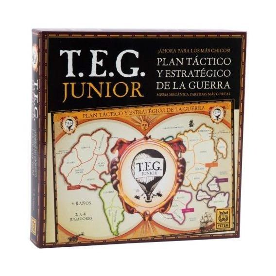 Juegos De Mesa Teg Junior Tactico Guerra Infantil 80100