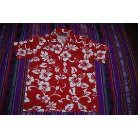 Camisa Hawaiana Psicodelica Niño O Mujer Vintage C 1719