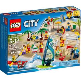 Lego City 60153 Diversão Na Praia 15 Minifigura Lançamento #