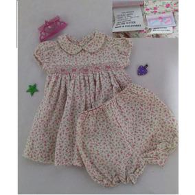 Vestido, Bebé, Flores, 2 Piezas