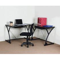 Mesa + Cadeira Escritório Assisi Bérgamo Computador Trabalho