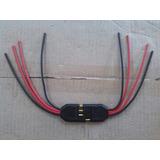 Kit 2 Chicote Plug 4 Vias Para Tampão Ou Caixa Selada