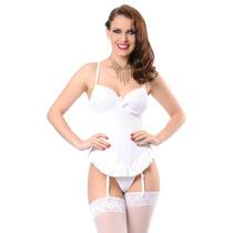 Espartilho Corpete Branco Noiva Mcl Modelo Lindoespartilho