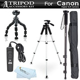 Kit Trípode Para Canon Eos 60d, T5i, T5, T4i, T2i, T3i, Xs