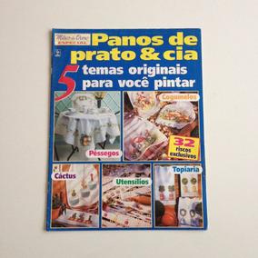 Revista Mãos De Ouro Panos De Prato & Cia Pintura