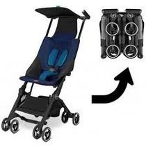 Pockit Azul Carrito Paraguita Ultraplegable Niños 25kg Envio