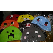 Gorros Polar Anime - Pokemon Totoro Minecraf Sailor Moon
