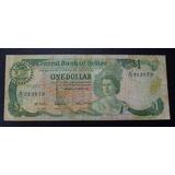 Belice Billete 1 Dolar F+ 1982