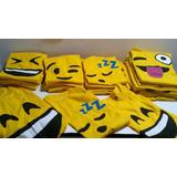 Remeras Emoji Carita Whatsapp Emoticones Egresados Souvenirs