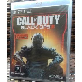 Call Of Duty Black Ops 3 Ps3 Bo3 Mídia Física Novo Lacrado