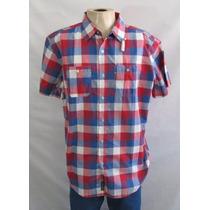 Camisa Ecko Manga Curta G Xadrez Importada 075