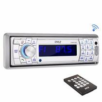 Auto Estereo Bluetooth Pyle Caratula Desmontable Sd/usb Mp3
