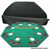 Mesa Plegable De Poker Y Blackjack Trademark Poker Deluxe