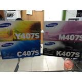 Toner Samsung Clt-m407s Disponible Los 4 Colores