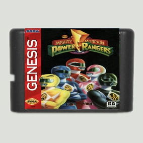 Mighty Morphin Power Rangers Mega Drive Genesis Tectoy