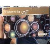 Lente Nikon 70-300mm F4-f5.6 G