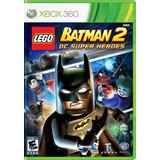 Lego Batman 2 Dc Super Heroes Xbox 360 Físico Original Sella