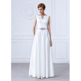 64b4033bc vestido novia corte moderno elegante esmoquin with vestidos de novias  modernos.