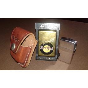 Encendedores 2 Zippos Originales Ed. Especial Y Porta Zippo