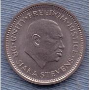 Sierra Leone 5 Cents 1984 * Dr. Siaka Stevens *