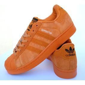 Zapatillas Superstar Gamuza Y Cuero Colores