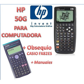 Programa Calculadora Hp 50g Para Pc + Manual Y Obsequio