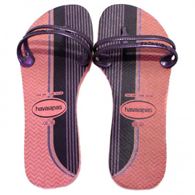 Chinelo Havaianas Flat Gum Fashion | Zariff