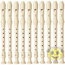 Flauta Doce Yamaha Yrs 23 Germanica Kit C/10 - Loja Kadu Som