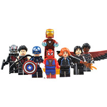 Coleccion Capitan America Civil War Compatible Con Lego