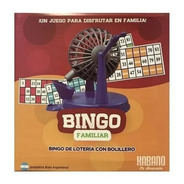 Bingo Familiar Con Bolillero 1003 Tombola Loteria Edu Full