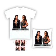 Kit Camiseta, Almofada E Caneca Simone E Simaria