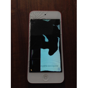 Ipod Touch 5g 32 Gb Solo Pantalla Rota Funcionando Excelente
